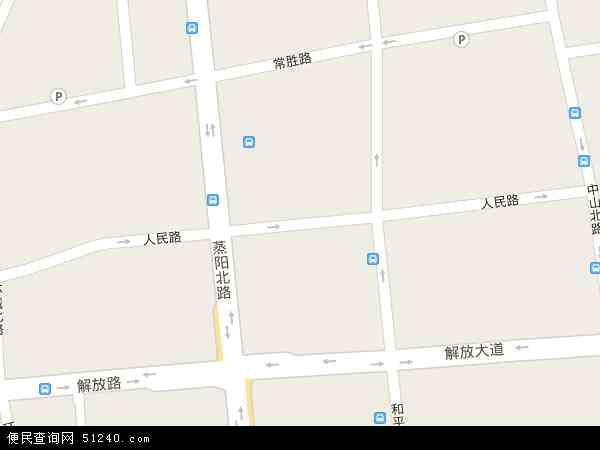 最新人民路地图,2016人民路地图高清版