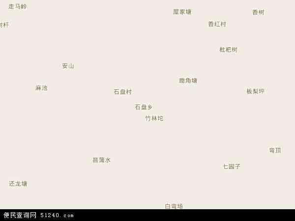 中国 重庆市 > 县 >  彭水苗族土家族自治县 石盘乡  石盘乡卫星地图