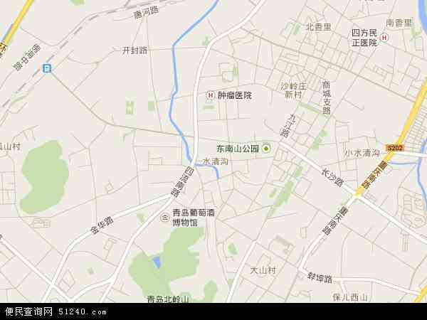 水清沟地图 - 水清沟电子地图 - 水清沟高清地图 - 2017年水清沟地图