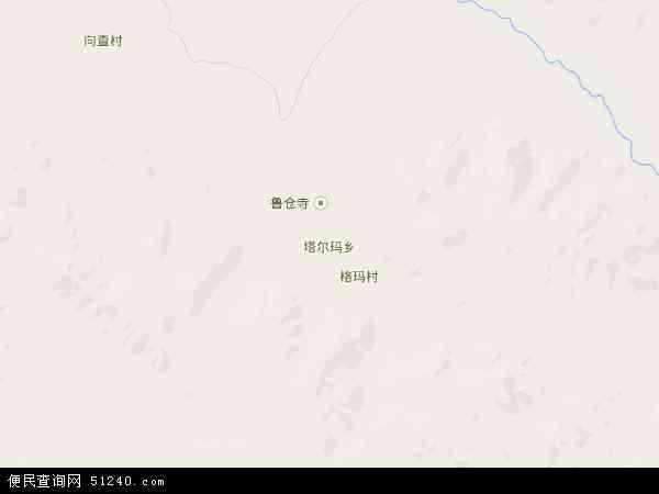 塔尔玛乡地图 - 塔尔玛乡卫星地图