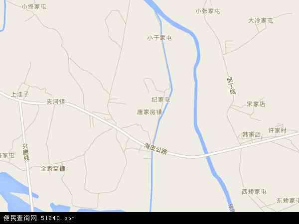 中国辽宁省大连市普兰店市唐家房地图(卫星地图)