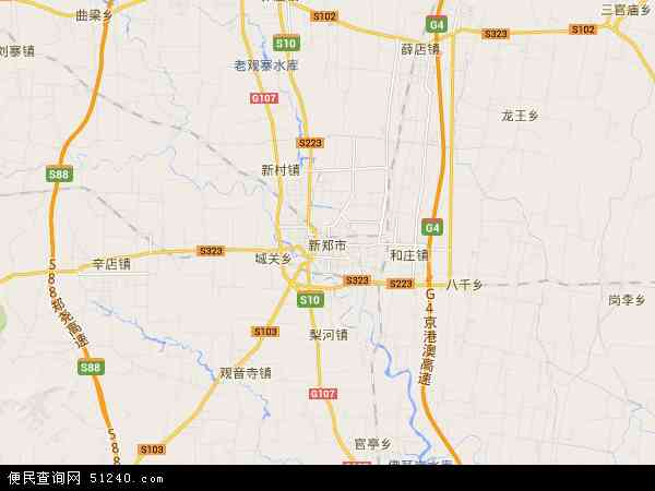 郑州市最新电子地图_新郑市地图 - 新郑市卫星地图 - 新郑市高清航拍地图