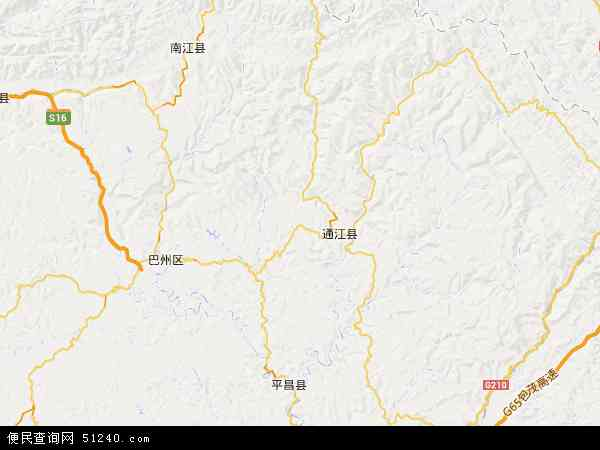 中国四川省巴中市恩阳区渔溪镇地图(卫星地图)
