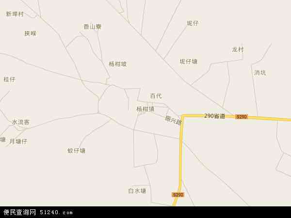 2017杨柑镇地图高清版,杨柑镇电子地图,2016杨柑镇地图 杨柑镇地形图