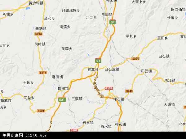 宜章县地图+-+宜章县卫星地图