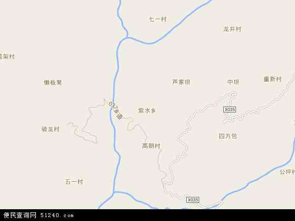 紫水乡地图 - 紫水乡电子地图