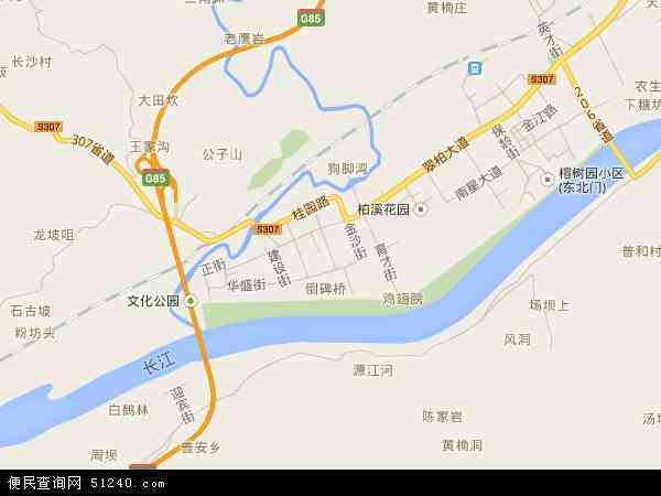 中国 四川省 宜宾市 宜宾县 柏溪镇  柏溪镇卫星地图 本站收录有:201