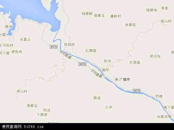 中国安徽省安庆市宿松县陈汉乡地图(卫星地图)