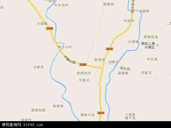 中国湖北省随州市广水市蔡河镇地图(卫星地图)