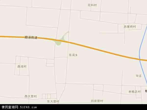 中国河北省廊坊市固安县东湾乡地图(卫星地图)