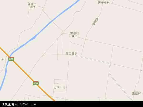 夏津县渡口驿_渡口驿乡地图 - 渡口驿乡卫星地图 - 渡口驿乡高清航拍地图