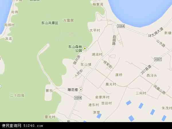 中国 江苏省 苏州市 吴中区 东山镇  本站收录有:2016东山镇卫星地图