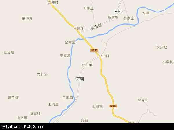 公田镇高清卫星地图 公田镇2016年卫星地图 中国湖南省岳阳市岳阳