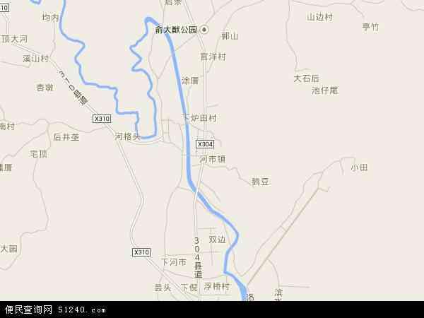 中国福建省泉州市洛江区河市镇地图(卫星地图)