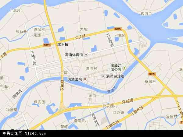 最新潢涌村地图,2016潢涌村地图高清版