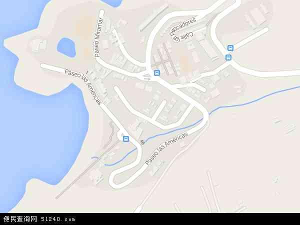 科科斯群岛地图(卫星地图)