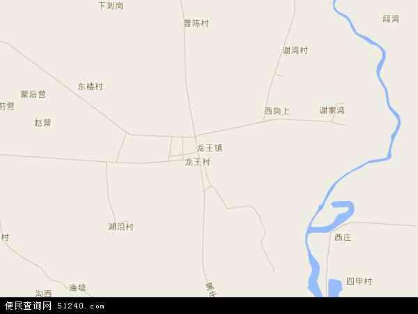 中国湖北省襄阳市襄州区龙王镇地图(卫星地图)