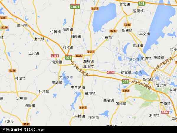溧阳监狱地图 - 溧阳监狱电子地图 - 溧阳监狱高清地图 - 2016年溧阳