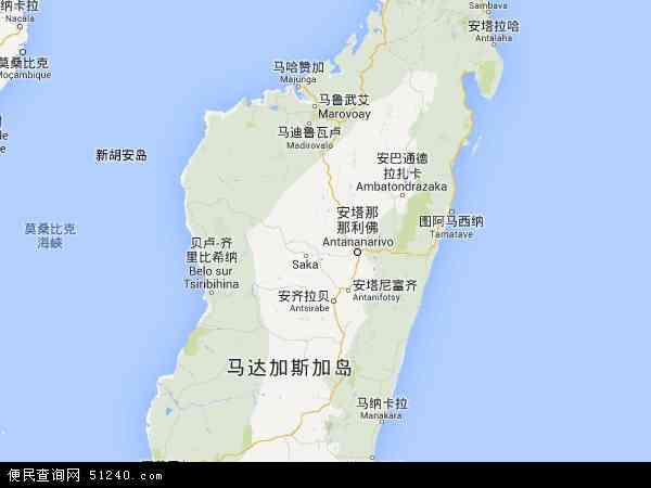 马达加斯加地图 - 马达加斯加电子地图 - 马达加斯加高清地图 - 2016年马达加斯加地图