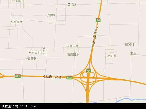 南吕固乡地图 - 南吕固乡电子地图