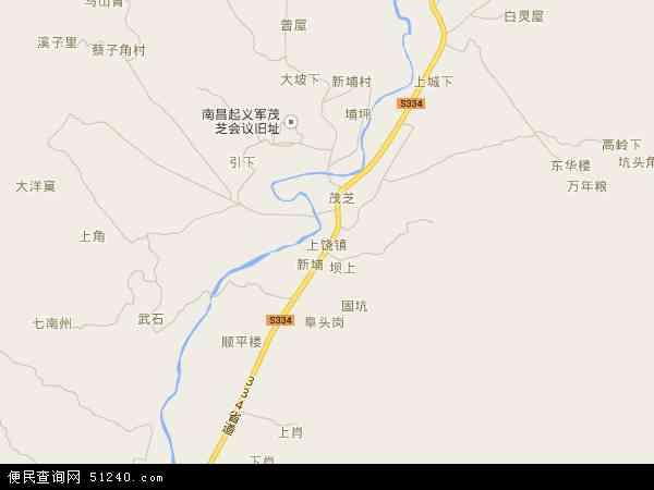 上饶镇高清卫星地图 上饶镇2016年卫星地图 中国广东省潮州市饶平