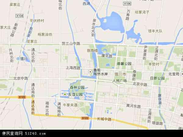 上海西路高清地图 - 2015年上海西路地图
