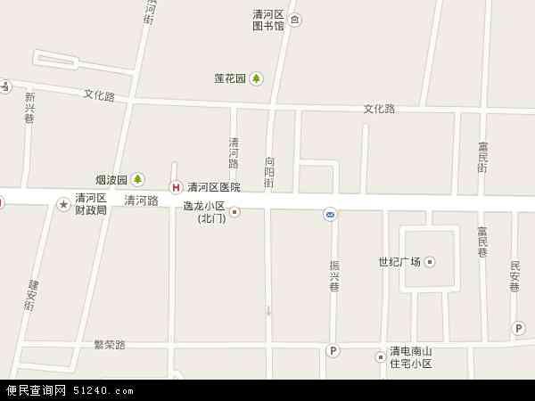 中国辽宁省铁岭市清河区向阳地图(卫星地图)