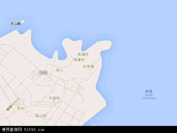 福建省 泉州市 石狮市 祥芝镇  本站收录有:2016祥芝镇卫星地图高清版