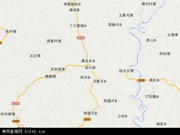 最新延川县地图,2016延川县地图高清版