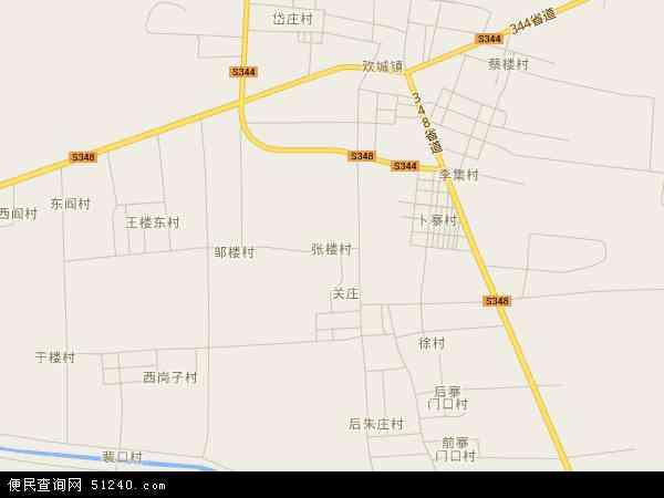 张楼镇地图 张楼镇卫星地图 张楼镇高清航拍地图 张楼镇高清卫星地图