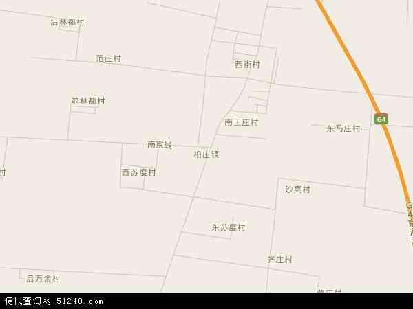 中国河南省安阳市安阳县柏庄镇地图(卫星地图)