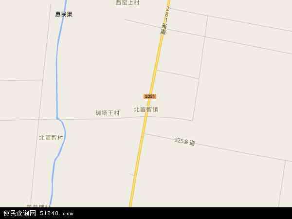 河北省 衡水市 景县 北留智镇  本站收录有:2018北留智镇卫星地图高清