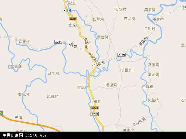 最新大观镇地图,2016大观镇地图高清版