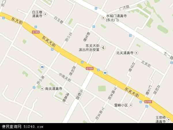 东关大街高清卫星地图 东关大街2016年卫星地图 中国青海省西宁市图片