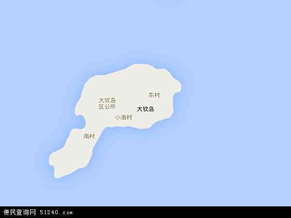 本站收录有:最新大钦岛乡地图