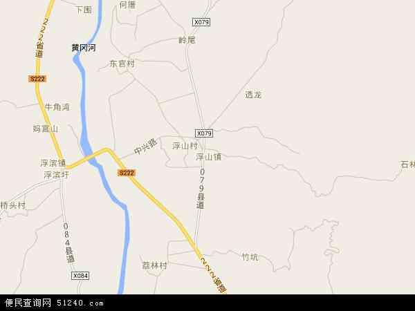 浮山镇高清卫星地图 浮山镇2016年卫星地图 中国广东省潮州市饶平