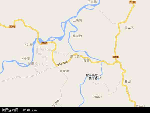 高屯镇地图 - 高屯镇电子地图 - 高屯镇高清地图 - 2018年高屯镇地图