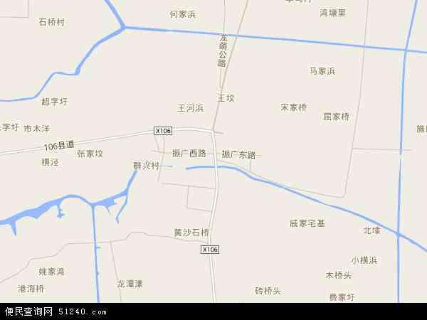 中国浙江省嘉兴市平湖市广陈镇地图(卫星地图)