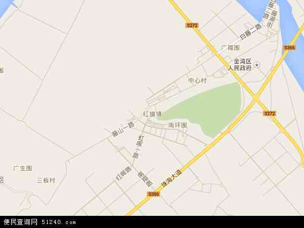 红旗镇地图 - 红旗镇电子地图 - 红旗镇高清地图 - 2017年红旗镇地图