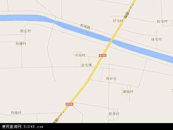 中国山东省济宁市嘉祥县金屯镇地图(卫星地图)