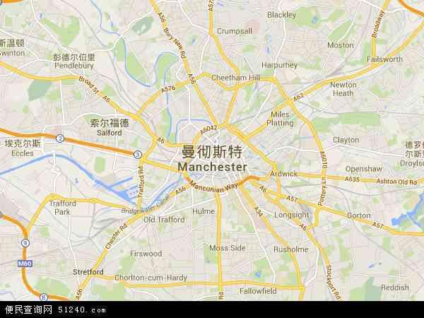 博茨瓦纳地图_曼彻斯特地图 - 曼彻斯特卫星地图 - 曼彻斯特高清航拍地图