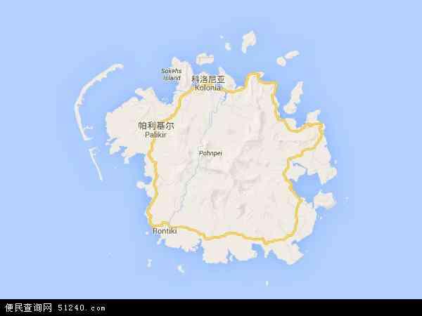 密克罗尼西亚地图 - 密克罗尼西亚电子地图 - 密克罗尼西亚高清地图 - 2016年密克罗尼西亚地图