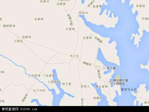 木兰乡地图 - 木兰乡卫星地图 - 木兰乡高清航拍地图
