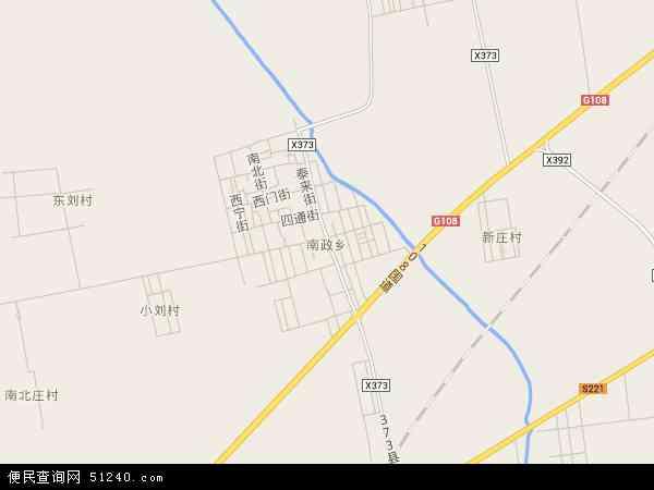 中国山西省晋中市平遥县南政乡地图(卫星地图)