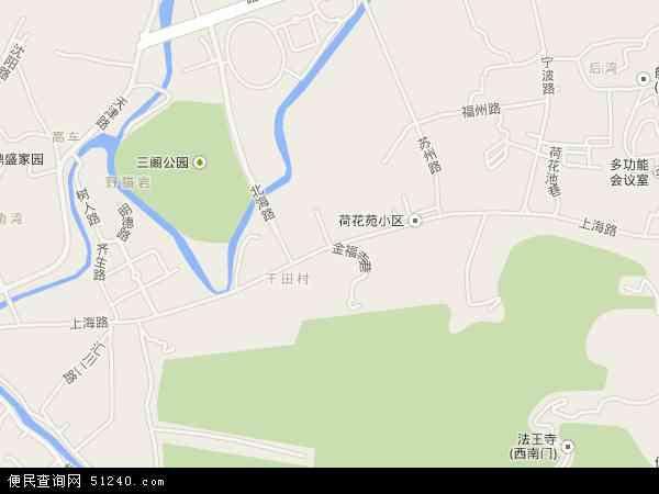 中国贵州省遵义市汇川区上海路地图(卫星地图)