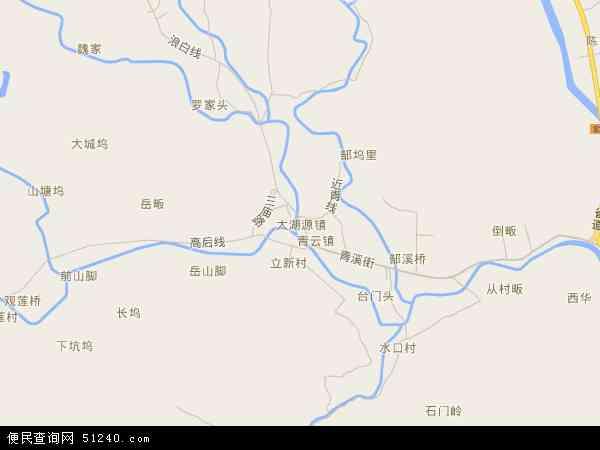 2014年杭州行政地图