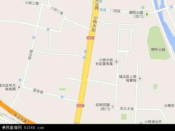小桥大街高清卫星地图 小桥大街2016年卫星地图 中国青海省西宁市图片