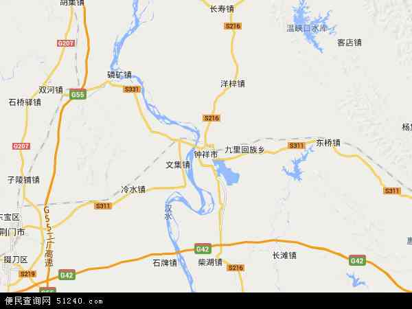 荆门市三维地图_钟祥市地图 - 钟祥市卫星地图 - 钟祥市高清航拍地图