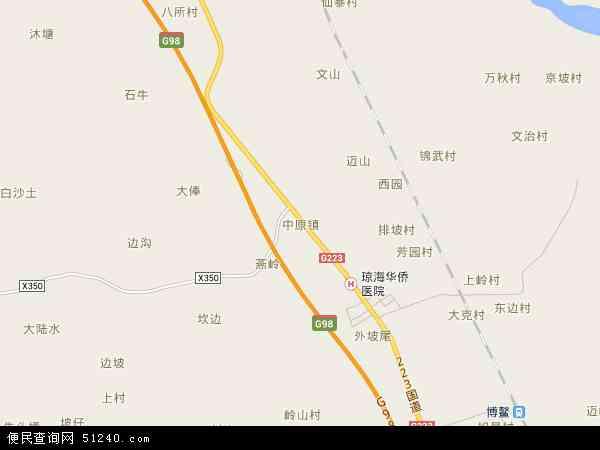中原镇地图 中原镇卫星地图 中原镇高清航拍地图 中原镇高清卫星地图 图片
