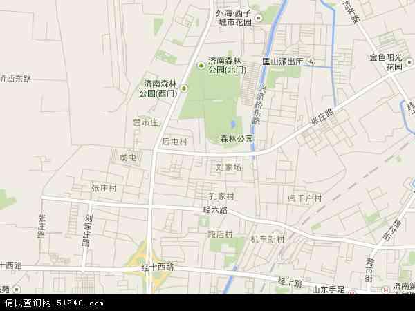 张庄路高清卫星地图 张庄路2017年卫星地图 中国山东省济南市槐荫